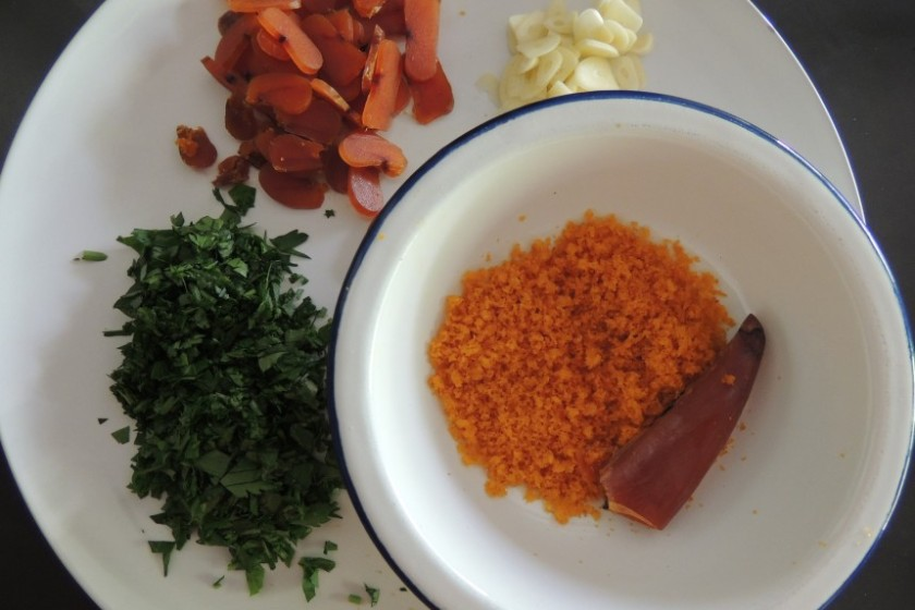 ingredients bottarga