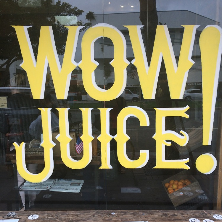Juice Crafters Sign